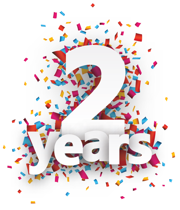 Second year Anniversary
